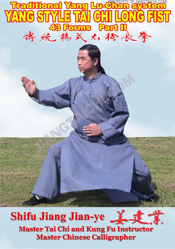 Yang Lu-Chan Tai Chi Long Fist - 43 Forms - Part 2