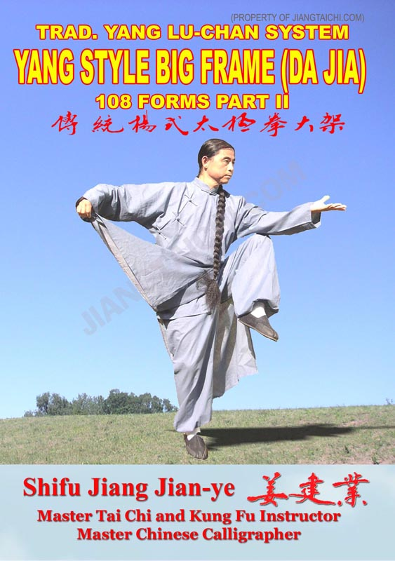 Yang Style Big Frame (Da Jia) - 108 Forms - Part 2