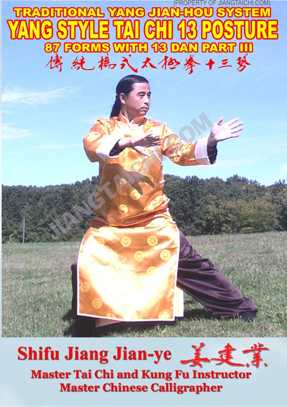 Yang Jian-Hou Tai Chi Thirteen Posture - 87 Forms - Part 3